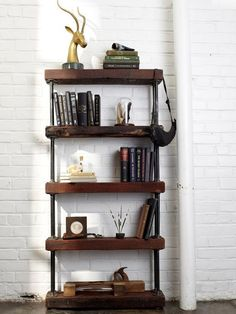 DIY Industrial Pipe Shelves (16) ⋆ Crafts and DIY Ideas