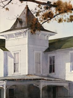 View Standing Strong By Dean Mitchell; 20 x 15 inches; Access more artwork lots and estimated & realized auction prices on MutualArt. Watercolor Architecture, Watercolor Landscape, Art And Architecture, Landscape Art, Landscape Paintings, Watercolor Paintings, Watercolors, Landscapes, Watercolor Techniques