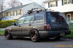 Gangstered-out Subaru Forester