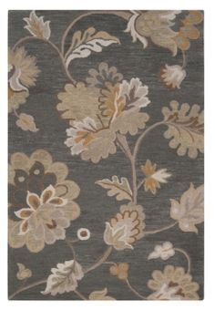 Gray Tan Transitional Style Multiroom Design Part I Bath Rugs Wool Area