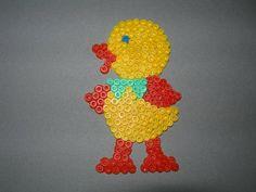 Easter chick hama perler beads
