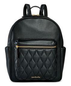 ab4a4fcca5e7 Vera Bradley Leighton Backpack Handbags   Accessories - Macy s. Leather  Backpack PurseBackpack HandbagsBlack ...