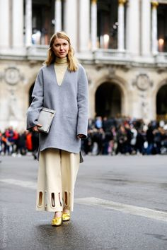 Pernille Teisbaek, after Stella McCartney, Opera, Paris RTW Fall