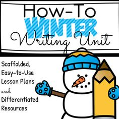 I am so excited to share this Differentiated How-To Writing Unit for Grade K-1!! This Unit Plan includes 8 lessons that scaffold student learning with an end goal of writing 3 or 4 step How-To pieces. At the end of the unit, students will write and illustrate How-To Books.Students will learn:- What a procedure is.- How to sequence the events in a procedure with class and partner picture sorts.- How to tell about the steps in a procedure using picture and partner support.- How to choose a…