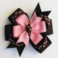 This Pin was discovered by Jen Love this hairbow. Items similar to Minnie Mouse Bow / Red, White, and Black Polka Dot Hair Bow / minnie mouse bow / disney hair clip / baby hair bows / small disney clips on Etsy Discover thousands of images about homemade Ribbon Hair Bows, Diy Hair Bows, Diy Bow, Bow Hair Clips, Hair Bow Tutorial, Boutique Hair Bows, Making Hair Bows, Fabric Bows, Diy Hair Accessories