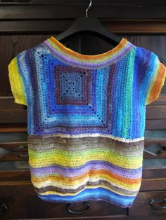 NORO crochet top