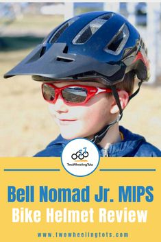 If you're looking for the best bike helmet for your child, you've come to the right place! From size and dial-adjust, to shape and visors, we've done all the research so you don't have to! Click through to read the full expert review of the Bell Nomad Jr. MIPS bike helmet! Cool Bike Helmets, Kids Helmets, Bicycle Helmet, Bike Equipment, Full Face Helmets, Skater Style, Kids Bike, Bike Style, Visors