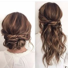 wedding hairstyles for long hair Wasserfall Frisur fr lange Haare, die restlichen Haare sind hochgesteckt, lssige Steckfrisur Long Hair Wedding Styles, Long Hair Styles, Trendy Wedding, Hairstyles For Long Hair Wedding, Hairstyle Wedding, Bridal Hairstyles, Short Hairstyle, Wedding Guest Updo, Wedding Hair For Guests