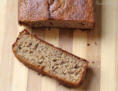 Banana Cake, no flour and no sugar. Bolo de Banana sem Farinha e sem Açúcar