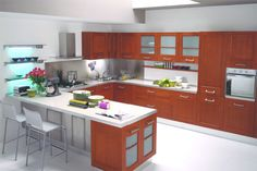 Types Materials Modern Kitchen Cabinets Kitchen Design Images