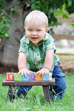 One Year Old Boy Photo Shoot Ideas | Year Old session : $125 photo shoot of your…