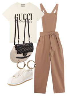 """Untitled #2706"" by mariie0h ❤ liked on Polyvore featuring Samantha Pleet, Gucci, Chanel, NIKE and Acne Studios"