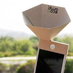 Eco speaker = #music to our ears! #eco #green
