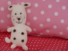 felt dog made by me with love ;-))