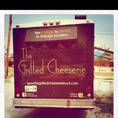 Grilled Cheese food truck in Nashville, TN. So yum.