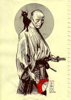 Whisker Samurai by Gilles Vranckx / Blog