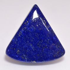 Lapis Lazuli Cabochon ~ 25mm x 13mm x 3-5mm depth ~ 12 carats