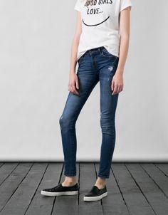Jeans BSK skinny confort - Jeans - Bershka Mexico