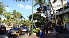 Waikiki Beach Walk is an area with luxury and chain restaurants and shops. A huge renovation vastly improves the look and feel of vacation souvenir shopping in Waikiki.