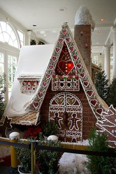 Gingerbread House in American Adventure by Groucho Dis, via Flickr