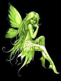Green fairy!