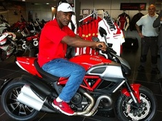 Holyfield Has Expressed An Interest In Gaining His Motorcycle Licence  Through The Ducati Rider Training School