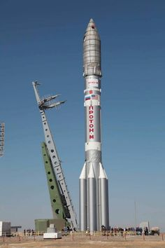 Russia's Proton rocket and Breeze M upper stage will return to flight Tuesday with a Mexican communications satellite, launching for the first time since the expendable rocket put a payload in the wrong orbit on a flight in December. Liftoff from the Baikonur Cosmodrome in Kazakhstan is scheduled for 3:06 p.m. EDT (1906 GMT).   Live updates and video: http://spaceflightnow.com/proton/satmex8/status.html