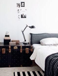 Vintage Trunk | Bedroom