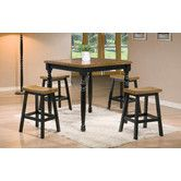 $239  table only   Stools $58 each    Found it at Wayfair - Quails Run Counter Height Pub Table Set