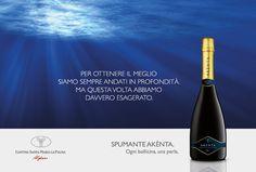 spumante-akentos-alghero-sardegna depositate le bottiglie a circa 30 metri di profondità, in modo da favorirne l´evoluzione organolettica in maniera del tutto naturale... #ciboprossimo