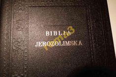 BIBLIA JEROZOLIMSKA W SKÓRZE
