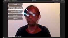 FaceTracker Sample using OpenCV for Unity