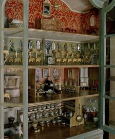 Antique Swedish Doll House
