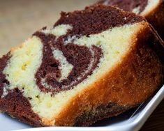 Gâteau au yaourt marbré facile | Recette facile et rapide