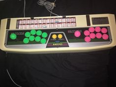 Sega Saturn Virtua Stick Pro HSS-0130  #retrogaming #HotSS  no box yellowed but with new semitsu ls32 joysticks and new semitsu ps14 arcade buttons. Auction from the US with a reserve. Or BIN at 350 USD.