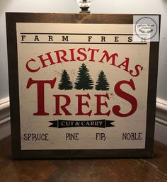 Christmas Tree Cutting, Signs, Yellow, Decor, Decoration, Decorating, Shop Signs, Sign, Dekorasyon