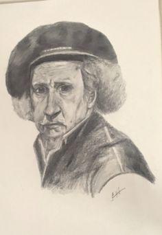 Sketch my pencil  For rembrandet