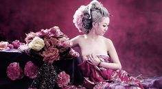 Chinese Beauty in a Pink Dress | Who Designed It?