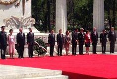 Conmemora Peña 208 aniversario de natalicio de Benito Juárez - Grupo Milenio