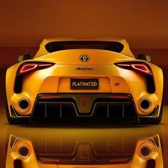 New Toyota Supra, Toyota Cars, Toyota Avensis, Tuner Cars, Jdm Cars, Bugatti, Mens Toys, 3d Studio, Car Tuning