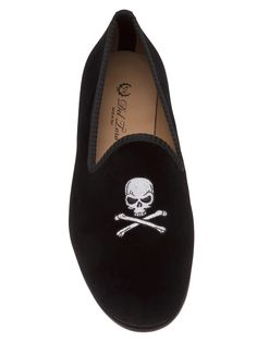 Del Toro Shoes Skull & Bone Slipper - American Rag - Farfetch.com