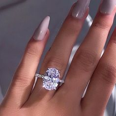 Women 925 Silver Peridot Wedding Engagement Fashion Anniversary Gift Ring Sz6-10
