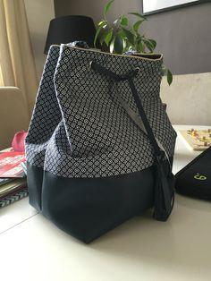 Sac à main (*printemps*) – DIY, Couture & Co. Sacs Tote Bags, Diy Bags Purses, Diy Fashion, Womens Fashion, Couture Sewing, Clutch, Handmade Bags, Diy Clothes, Leather