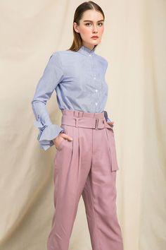 Nàng duyên dáng đừng bỏ qua loạt thiết kế váy-áo tay loe đến từ thương hiệu Việt này nhé! - Ảnh 5. Pantone 2016, Working Woman, Pants, Dresses, Summer, Women, Fashion, Style, Trouser Pants