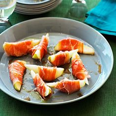 Prosciutto-wrapped Pears | Sunset.com