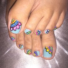 56 Ideas Pedicure Nail Art Toenails Fingers For 2019 Pretty Toe Nails, Cute Toe Nails, Toenail Art Designs, Nail Polish Designs, Pedicure Nail Art, Toe Nail Art, Romantic Nails, Summer Toe Nails, Finger Nail Art
