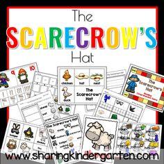 Scarecrow theme lesson plans for kindergarten