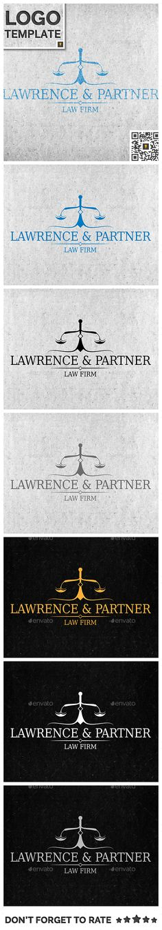 Law Firm US Letter Profile Template 0048 Font Logo   Firm Profile Format  Firm Profile Format