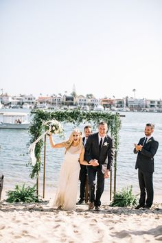 Relaxed Rustic Newport Beach Wedding