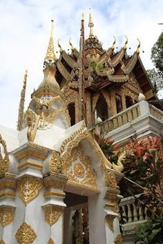 Wat Phrathat Doi Suthep buddhist temple in Chiang Mai, Thailand